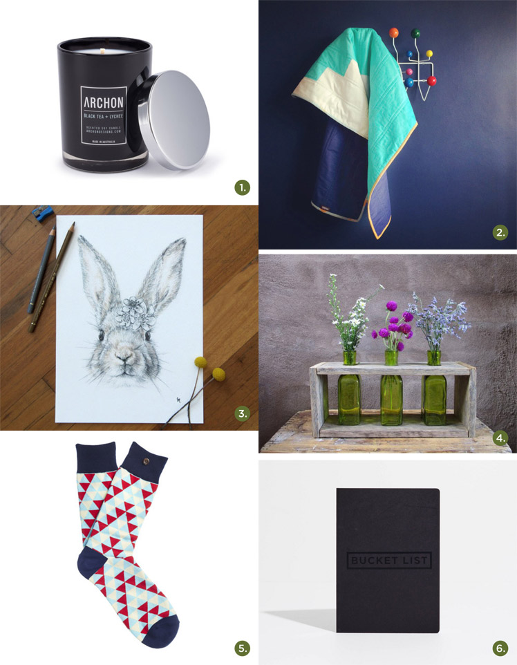 May 2015 Gift Guide: Winter at Home Archon