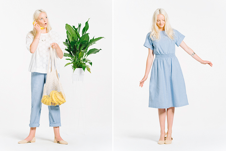 Naomi Murrell Lookbook + Product Shots by Sven Kovac