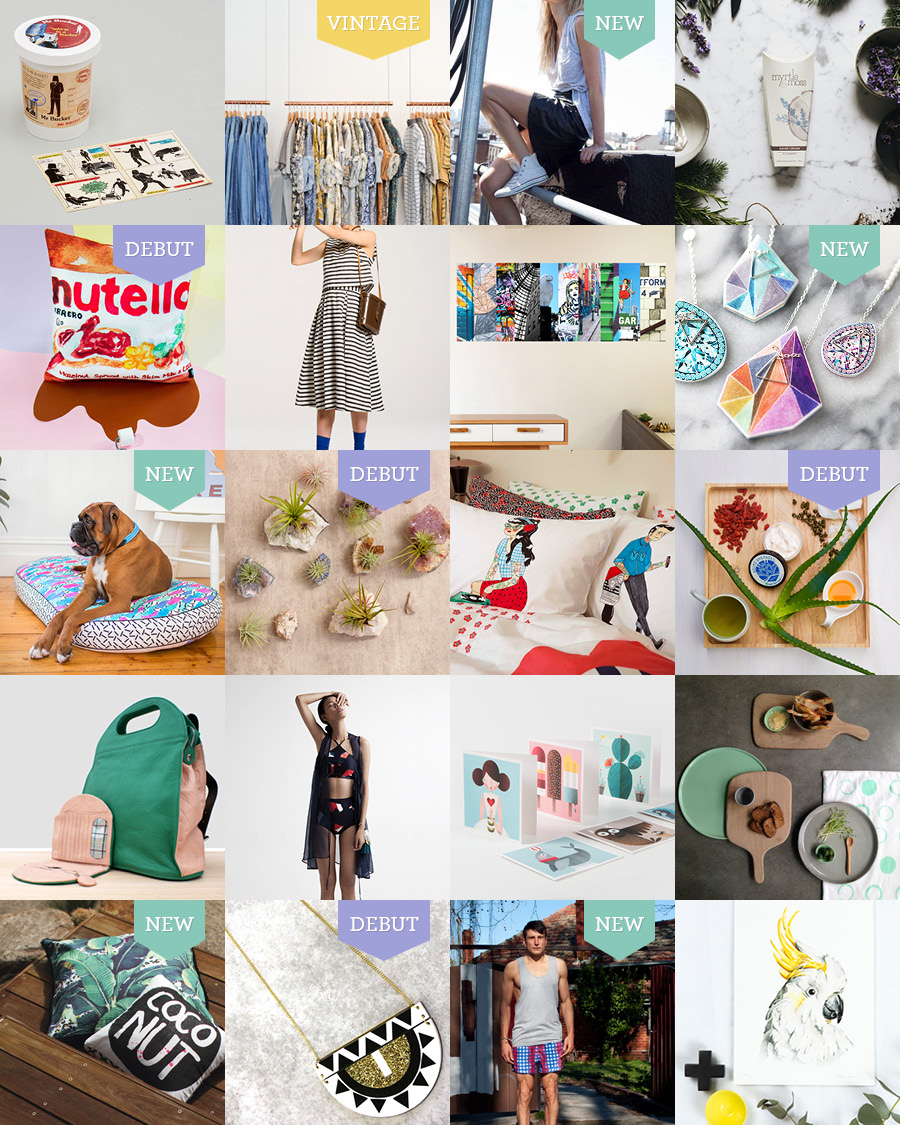The Finders Keepers Melbourne SS15 Market Line-up Art and Design