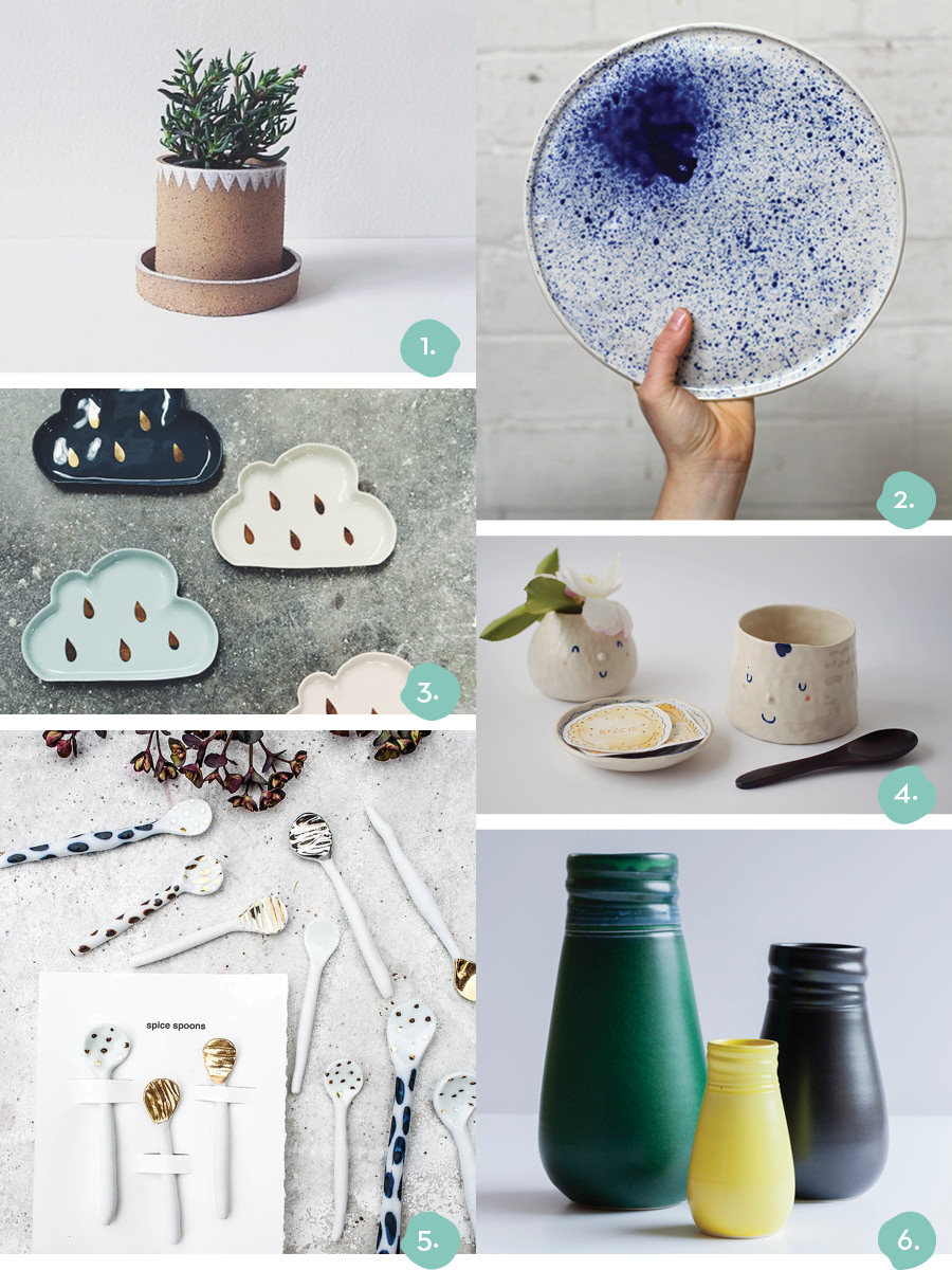 Finders Keepers Melbourne SS15 Shopping Highlights Ceramics