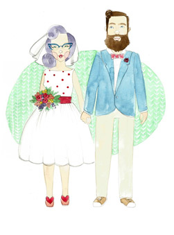 Featured Product: Custom portraits by OH Babybird