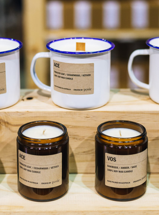 Featured Product: Soy Candle Enamel Mugs by Posie