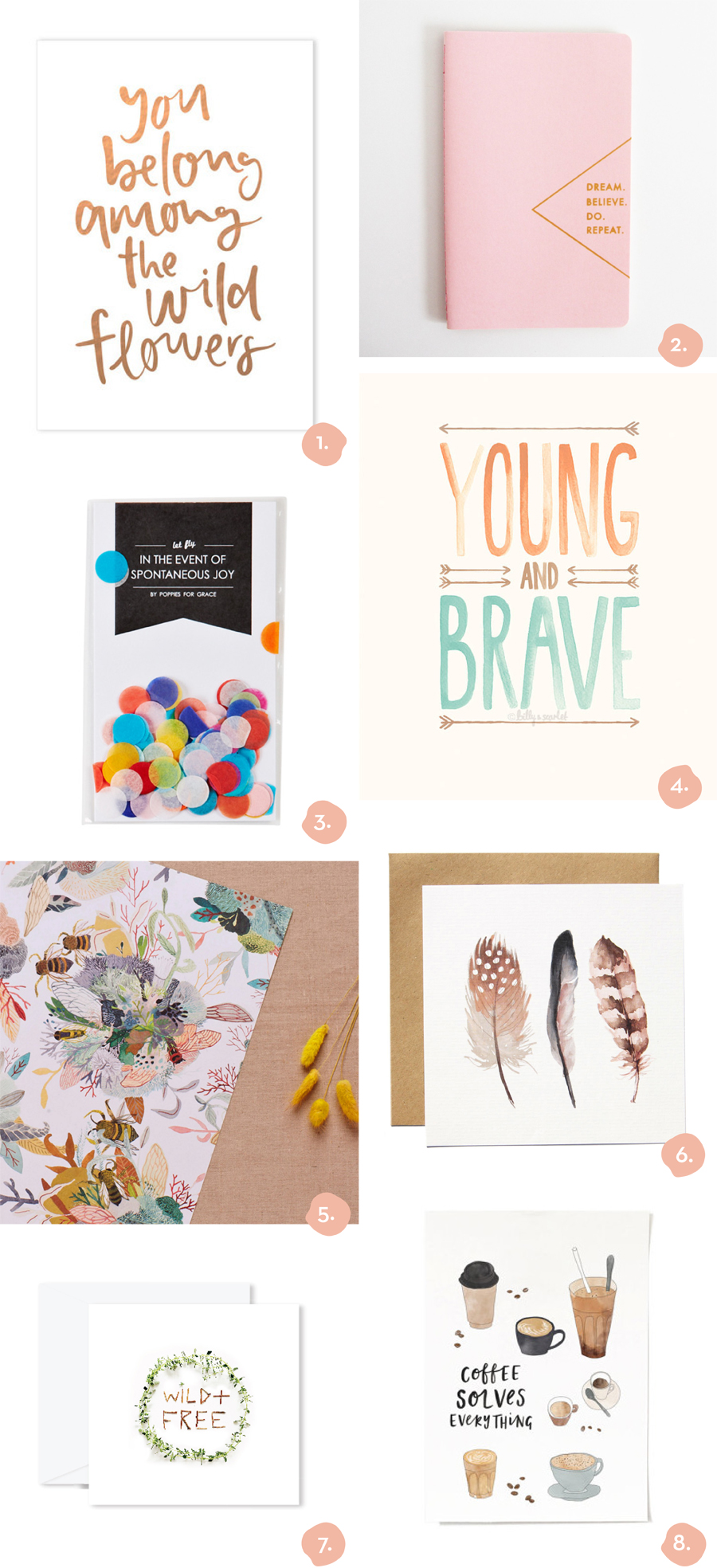 Finders Keepers Blog Gift Guide Stationery with Emma Kate Co.