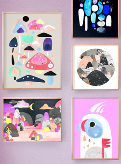 Featured Product: Fine Art Prints by Laura Blythman + Pete Cromer