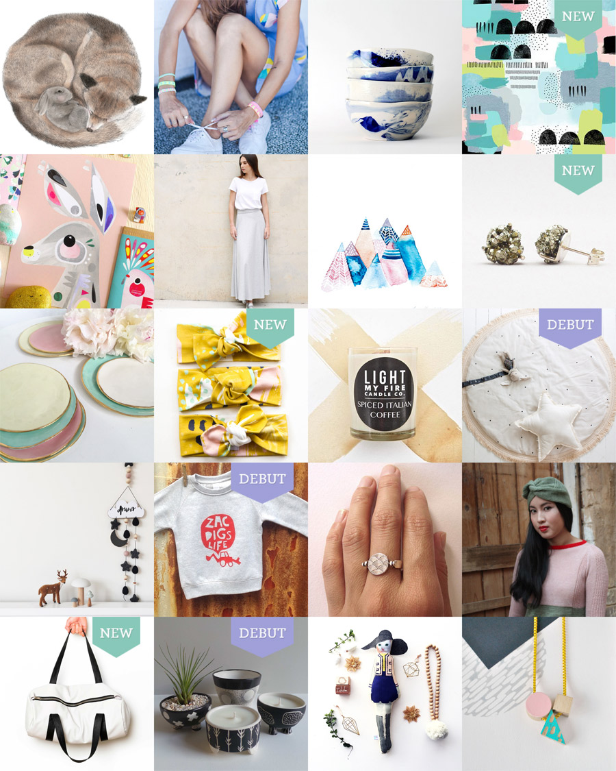 The Finders Keepers Melbourne AW16 Market Line-up Art and Design