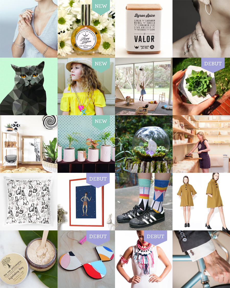 The Finders Keepers Adelaide AW16 Market Line-up Art and Design
