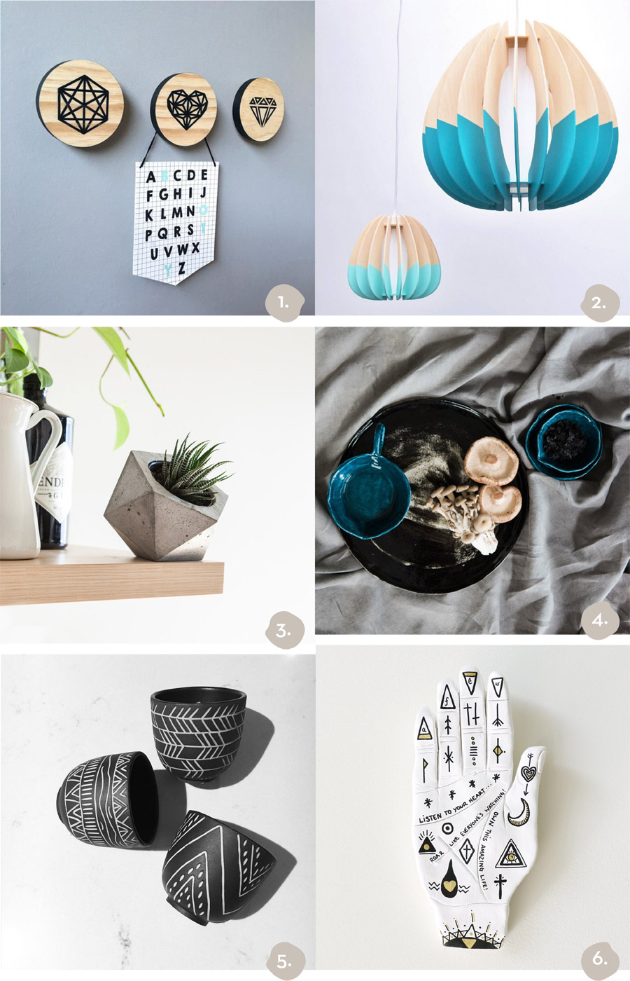 Finders Keepers Brisbane AW16 Market Shopping highlights homewares