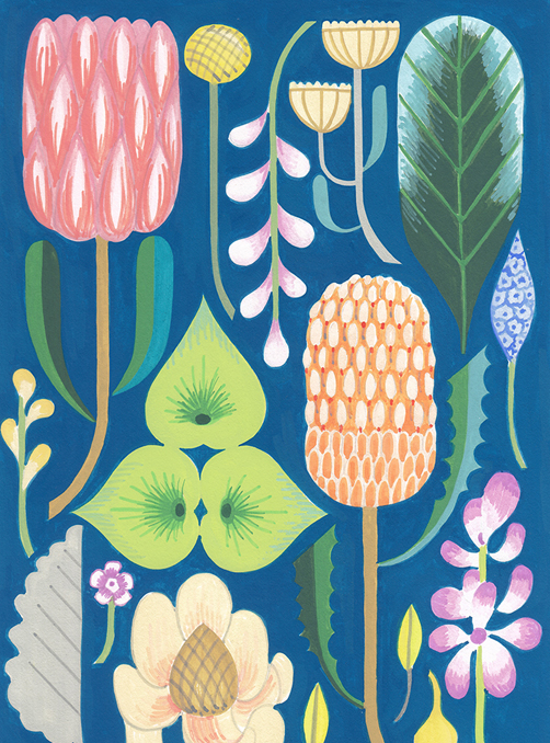 Featured Product: Botanic Prints by Claire Ishino