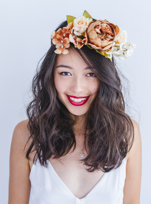 Featured Product: Floral Headpieces by K is for Kani
