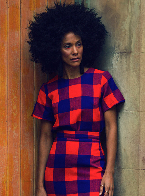 Feature Products: Red and Blue Checks by Collective Closets