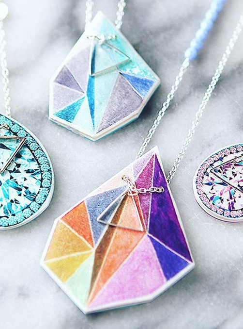 Featured Product: Triangle Art pieces by Next Romance