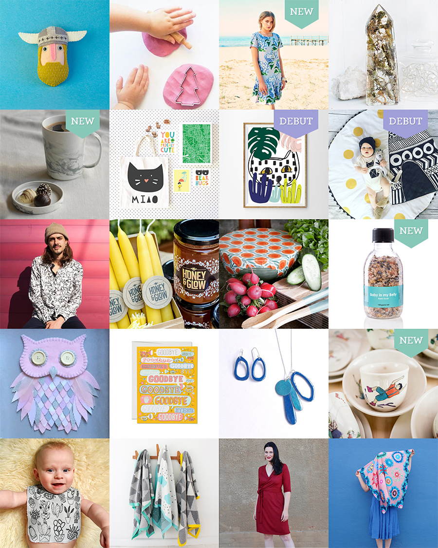 The Finders Keepers Melbourne SS16 Market Line-up Art and Design