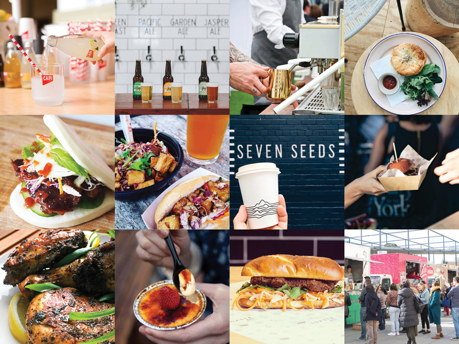 Findes Keepers Melbourne SS16 Food Coffee Bar Line-up