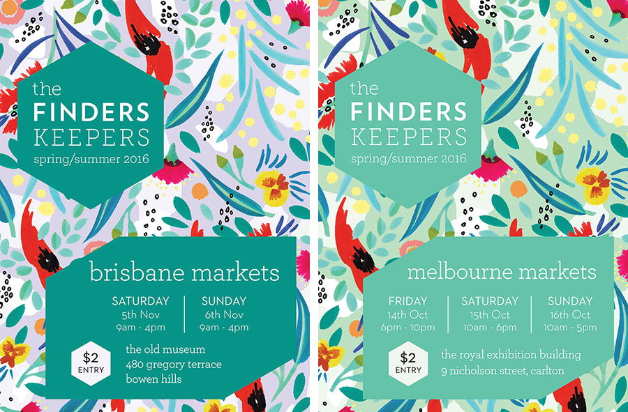 The-Finders-Keepers-Featured-Artist-Julie-White_Finders_Keepers_SS16-Flyer-2