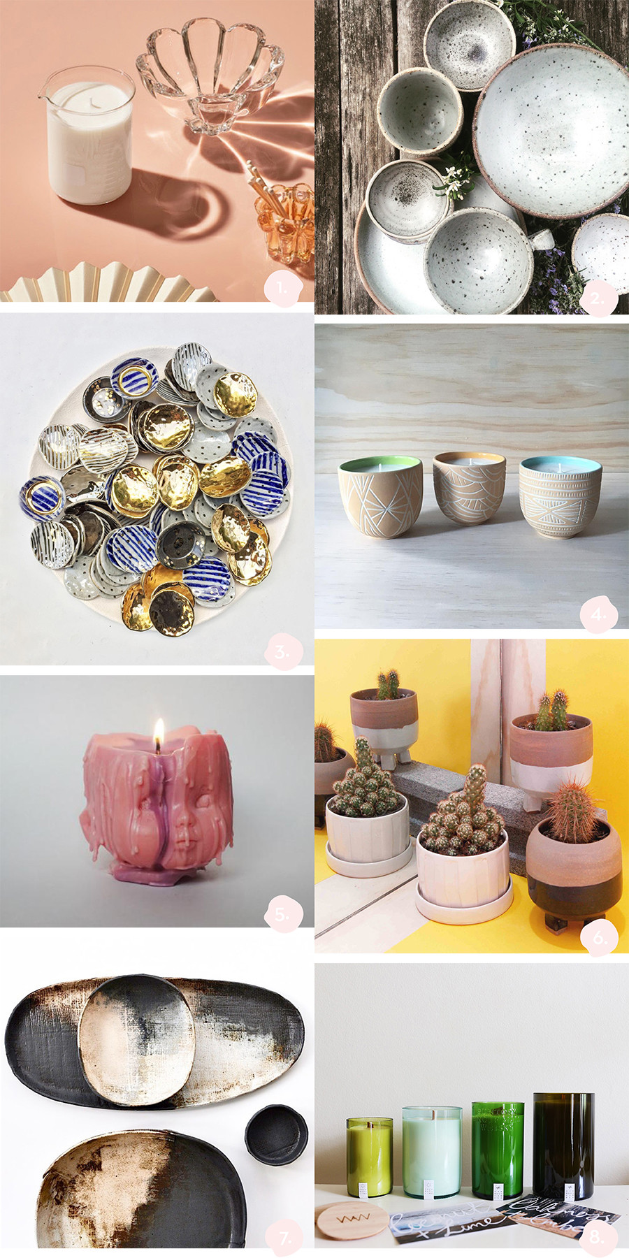 Sydney AW17 Finders Keepers Highlights - Candles and Ceramics