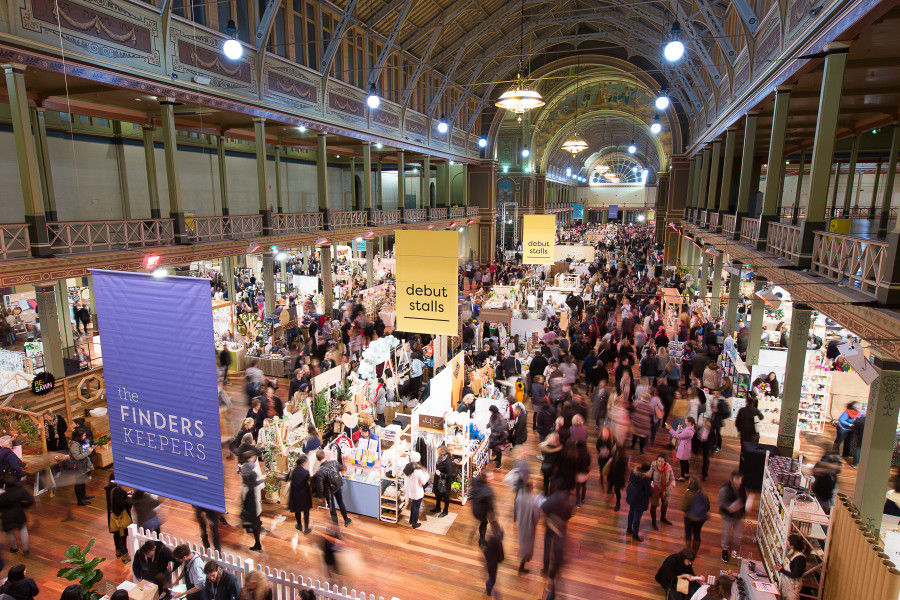 Finders Keepers Melbourne AW17 Market - Royal Exhibition Building Captured by Mark Lobo