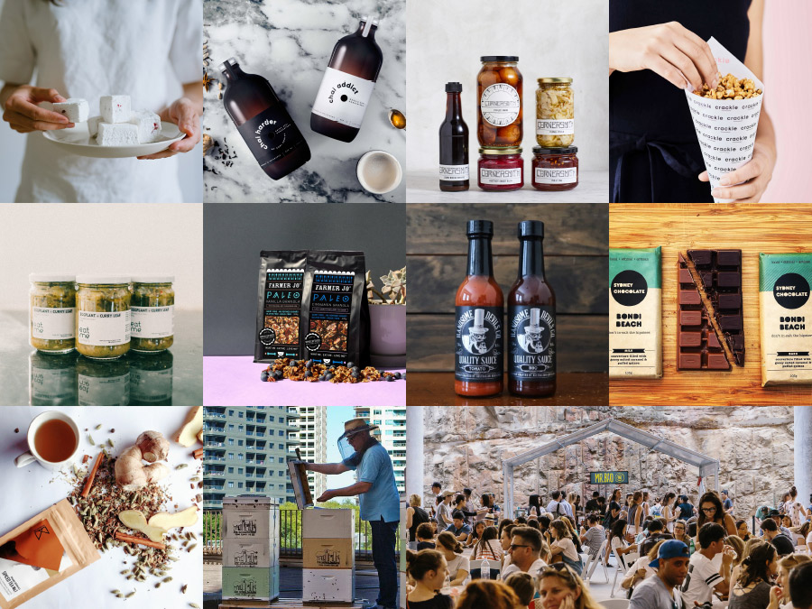 The Finders Keepers Sydney AW18 Markets Food lineup