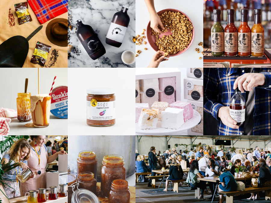 Brisbane AW18 Finders Keepers Market Food lineup