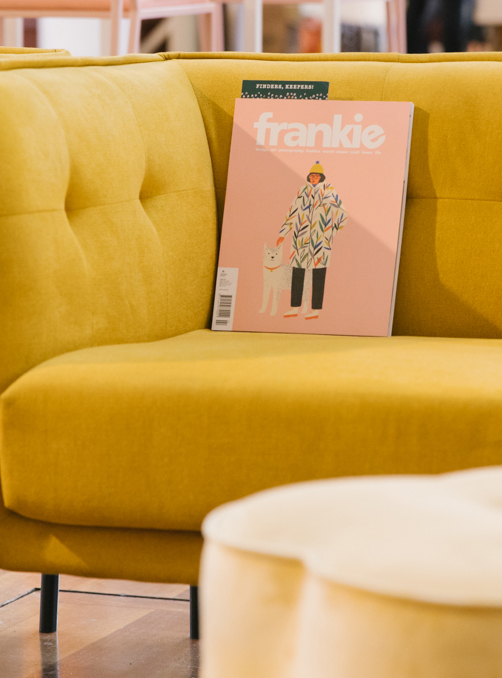 Pressie planning with frankie magazine! (subscription offer inside!)