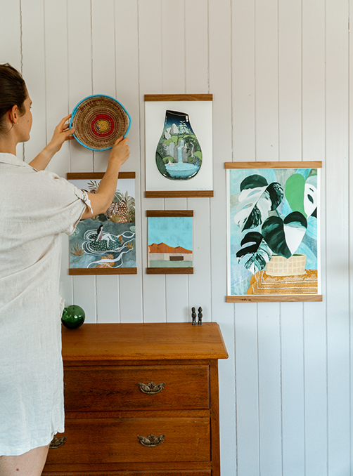 Finders Keepers Art at Home with Corner Block Studio