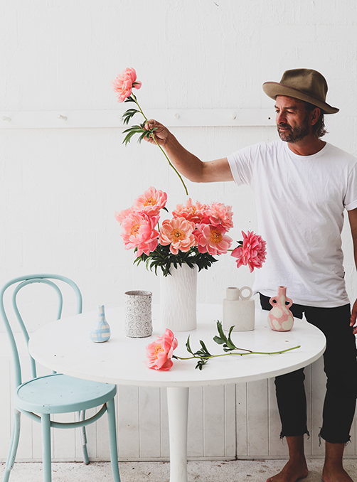 How to Style Flowers at Home with Mr Jason Grant