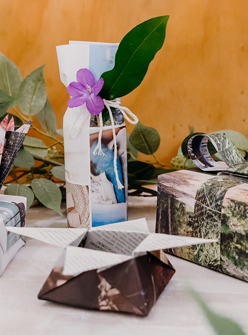 Peppermint's Guide To Sustainable Gift Wrapping
