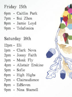 Music Line-up at the Sydney Finders Keepers Markets!